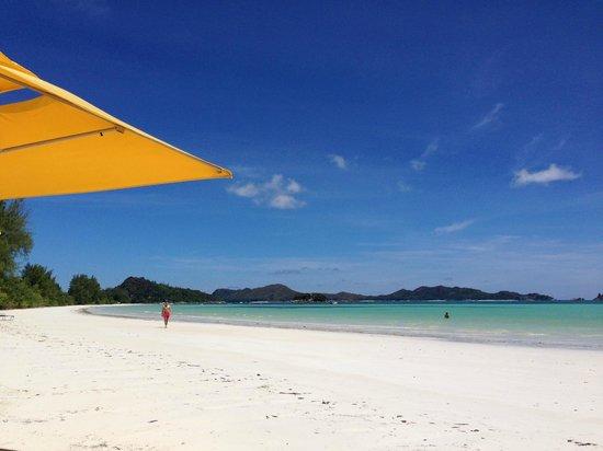 Acajou Beach Resort: plage de l'hôtel