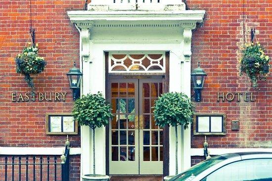 The Eastbury Hotel : The front door.