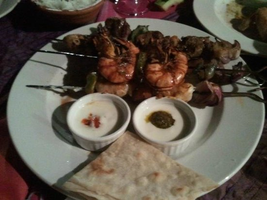 Kasbah: dinner
