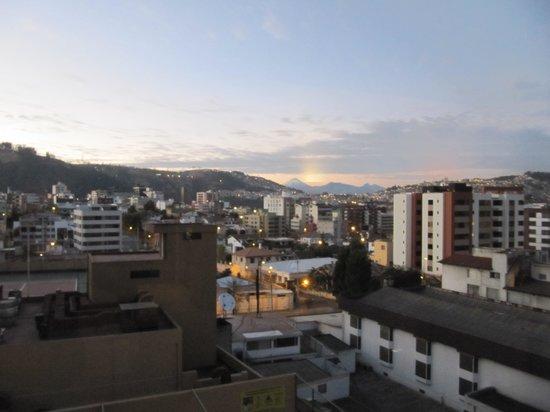 Swissotel Quito: Вид из номера