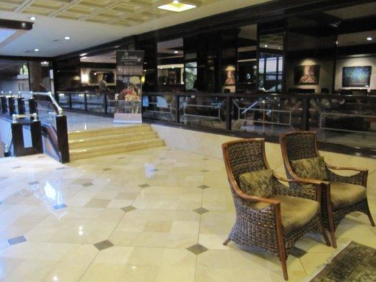 Swissotel Quito: Фойе отеля