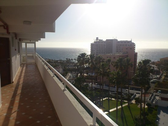 Ponderosa Apart Hotel: Widok z korytarza