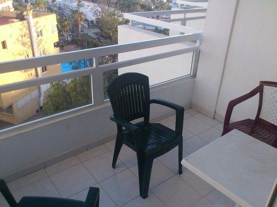 Ponderosa Apart Hotel: Balkon