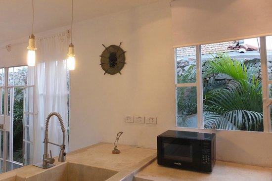 Villa Mayada : Küche