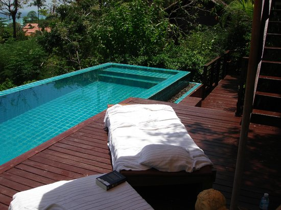 Zeavola Resort: unser privater Pool
