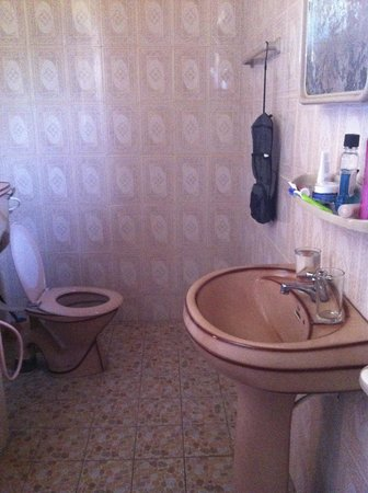 Samaru Beach House: Lovely toilet