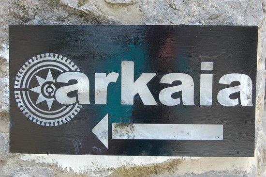 Agroturismo Arkaia-señalización