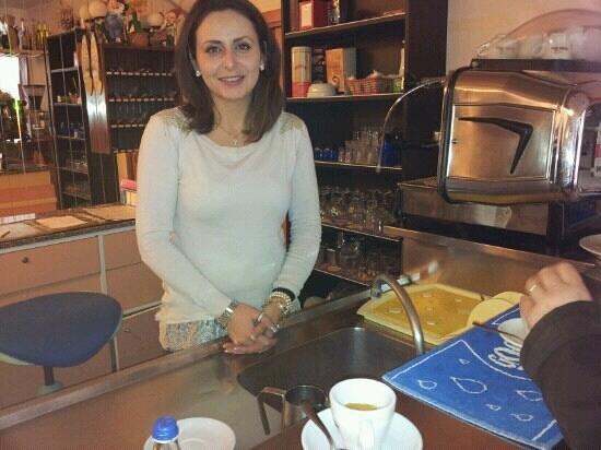 Hotel Romea: giovanna ha preparato il caffe