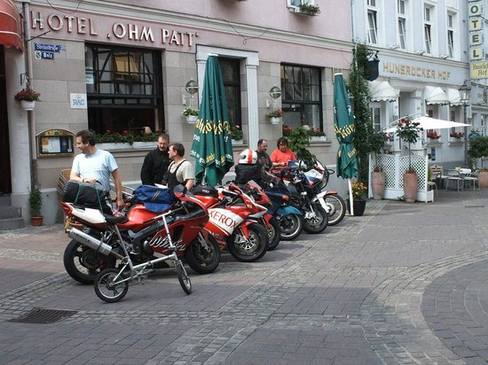 Boppard Hotel Ohm Patt: Bikers are welcome!!