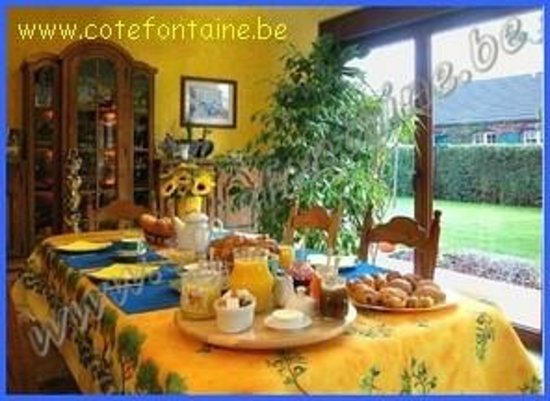 Cote Fontaine: Breakfast
