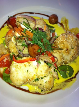 Spillane's Bar : Monkfish & Scallops