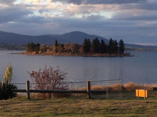 Jindabyne Holiday Park: view from our site 25