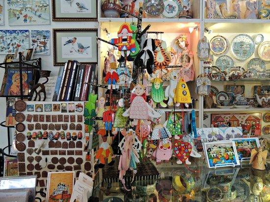 Na Torgu Gallery: Сувениры, картины