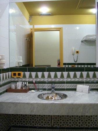 Hotel de la Moneda: Baño