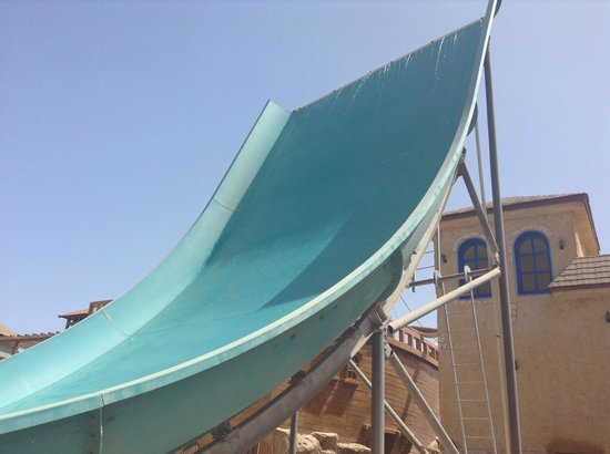 Coral Sea Aqua Club Resort: Slide at the water park: Boomerango