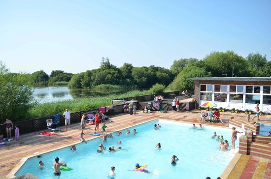 Chichester Lakeside Holiday Park - Park Holidays UK: Heated Outdoor Pool