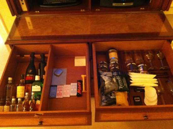 The Dorchester: Minibar