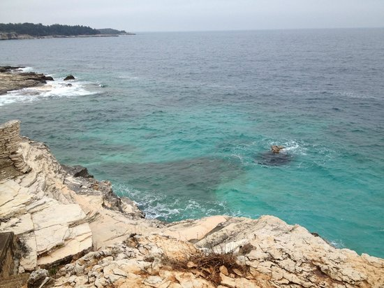 Verudela Beach & Villa Resort: vista dagli appartamenti
