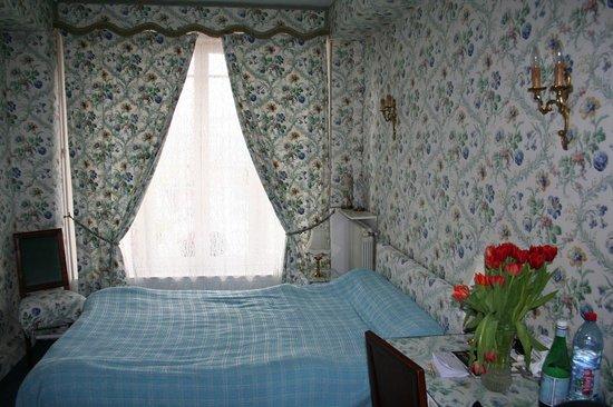 Hotel Ermitage : Sicht zum Fenster
