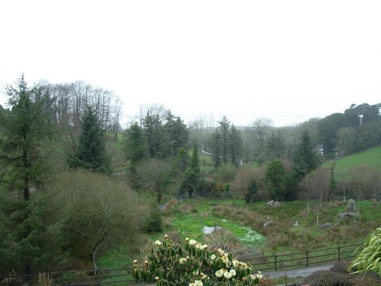 Gortnadiha Lodge: view from Lodge towards Dungarvan