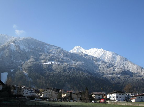 The mountains surrounding Mayrhofen