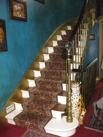 Hotel Ermitage : Treppe