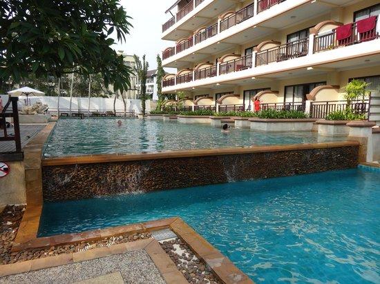 Krabi La Playa Resort: Top Pool