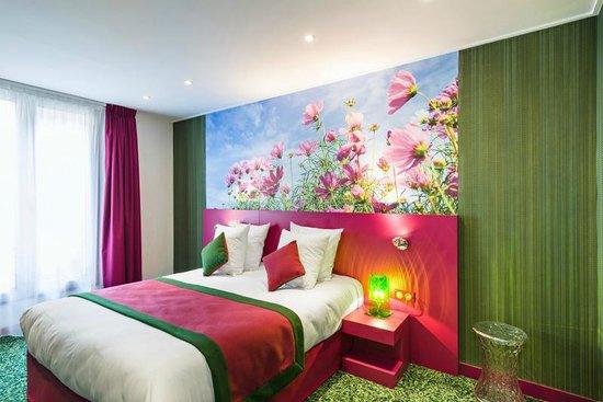 Hotel les jardins de montmartre paris frankrike for Les jardins de paris hotel