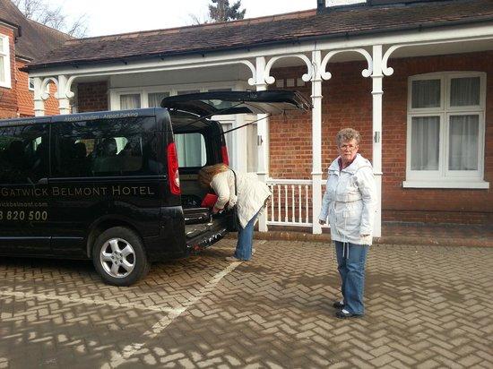"Gatwick Belmont Hotel & Restaurant : Gratis ""shuttle"" till Gatwick ingår!"