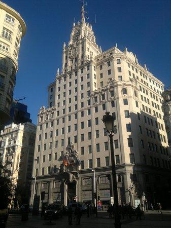 Catalonia Gran Via: Gran Via waarin ons hotal is gelegen