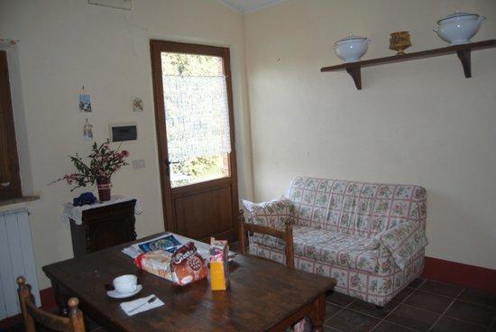 Tenuta Sant'Agnese: salón