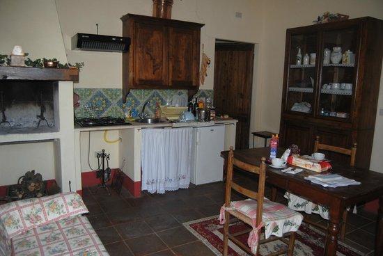 Tenuta Sant'Agnese: Salón-Comedor-Cocina