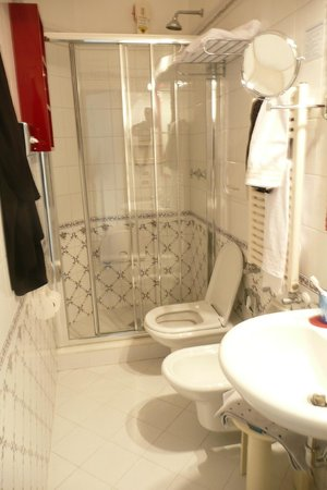 Pensione Accademia - Villa Maravege : Room 23 bathroom, shower only but all very good