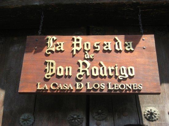 Hotel Posada de Don Rodrigo: Ingresso