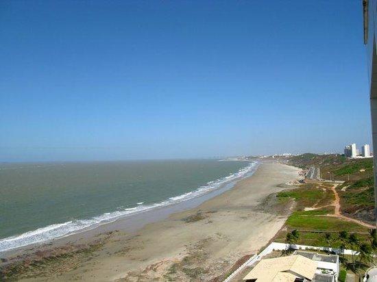 Hotel Luzeiros Sao Luis: Vista della spiaggia da nostra camera