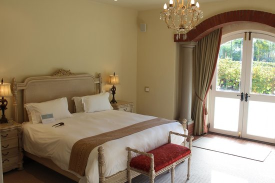 Franschhoek Country House & Villas: Our room