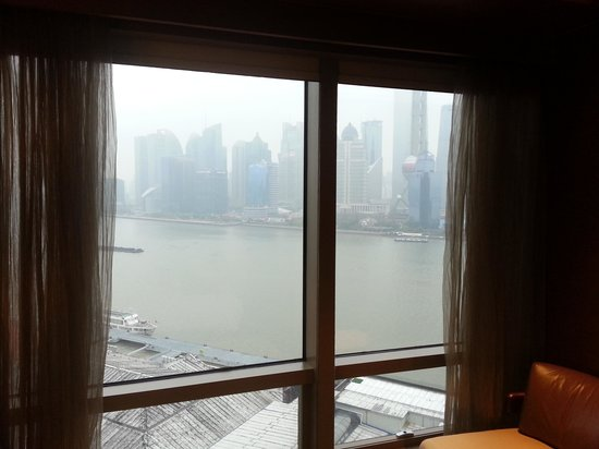 Hyatt on the Bund: Vista desde la habitación