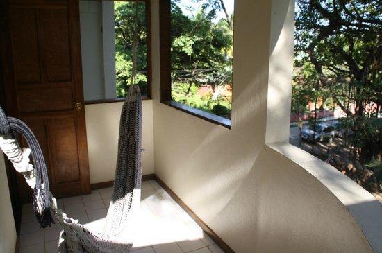 Hotel El Tajalin: Familieværelsets altan