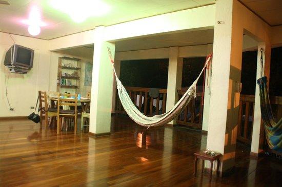 Hotel El Tajalin: Yoga- og køkkenalrum