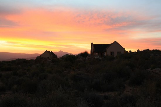 Kagga Kamma Nature Reserve: Sunset
