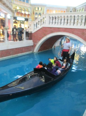 Casino at Venetian Macao : Grand Canal at Venetian MACAU