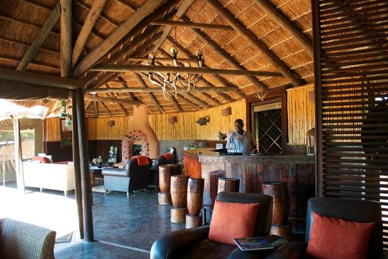 Amakhala Safari Lodge: lounge and reception area