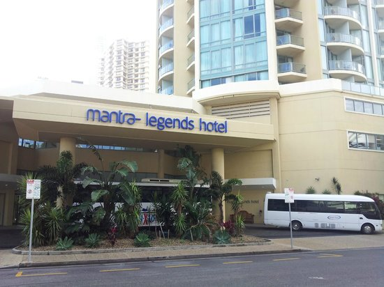 Main Gate Picture Of Mantra Legends Hotel Surfers Paradise