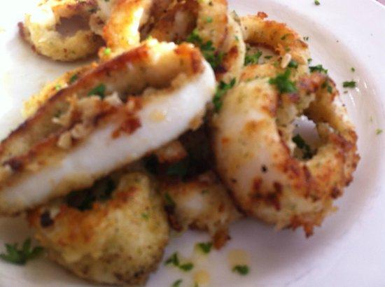 Chapmans Peak Hotel Restaurant: Fantastic Calamari
