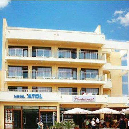 Hotel Atol : Hotellet set fra vejen
