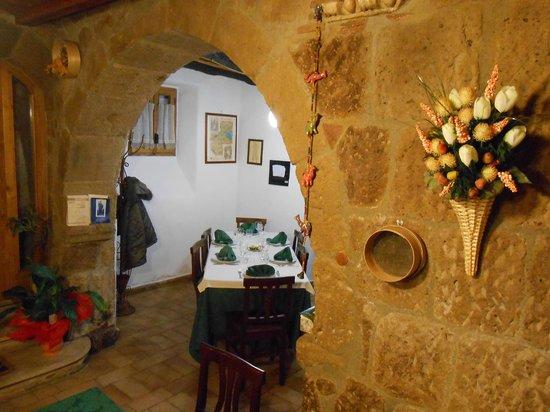 La Taverna dei Briganti: la volta