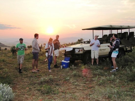 Nkomazi Game Reserve: What a way to end the day - Sundowners in the Park