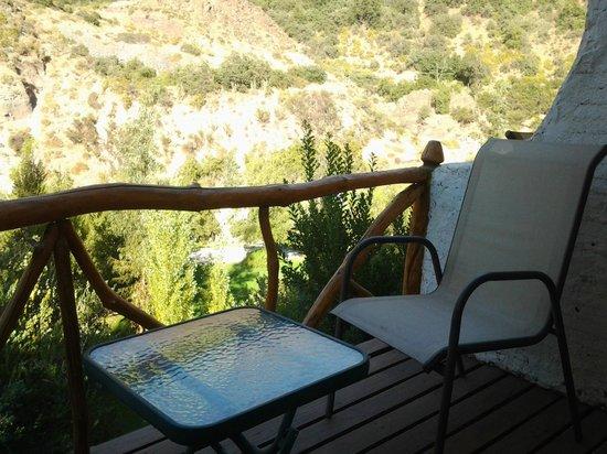 Santuario del Rio: Vista desde la terraza