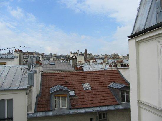 Hotel de l'Alma: Utsikt från rummet