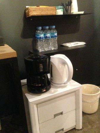 Seoul 53 Hotel : 無料コーヒー他